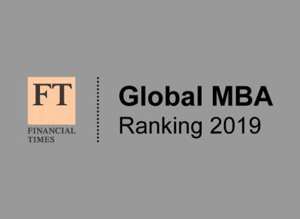 Financial Times Global MBA rankings 2019